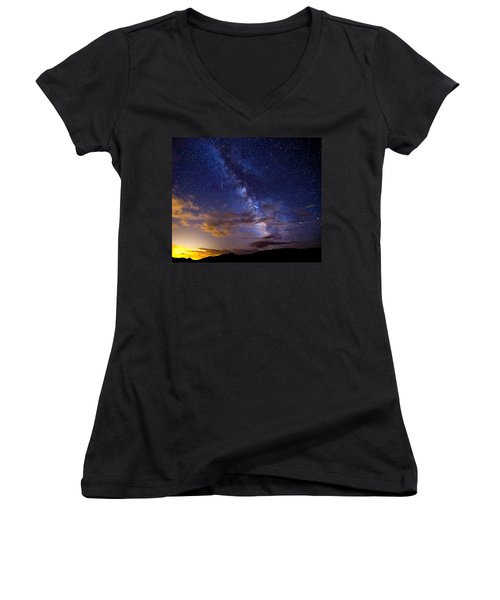 Cosmic Traveler  Women's V-Neck