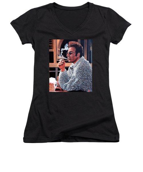 Cosmo Kramer Women's V-Neck