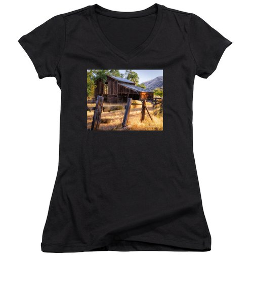 Country In The Foothills Women's V-Neck