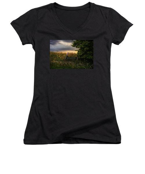 Countryside  Women's V-Neck (Athletic Fit)