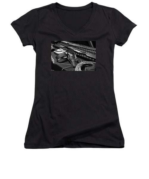 Cowboy Up Women's V-Neck
