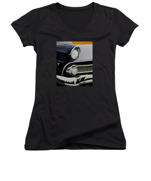 Crown Vic Women's V-Neck (Athletic Fit)