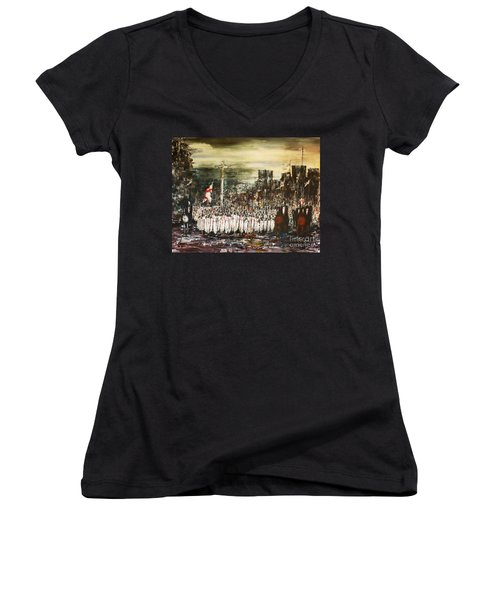 Crusade Women's V-Neck T-Shirt