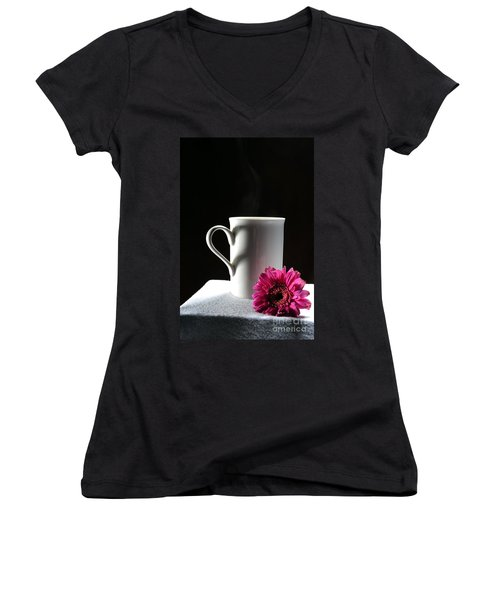 Cup Of Love Women's V-Neck