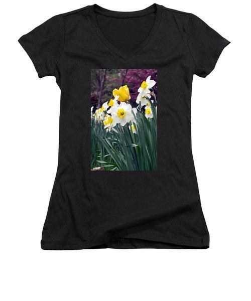 Daffodils Women's V-Neck