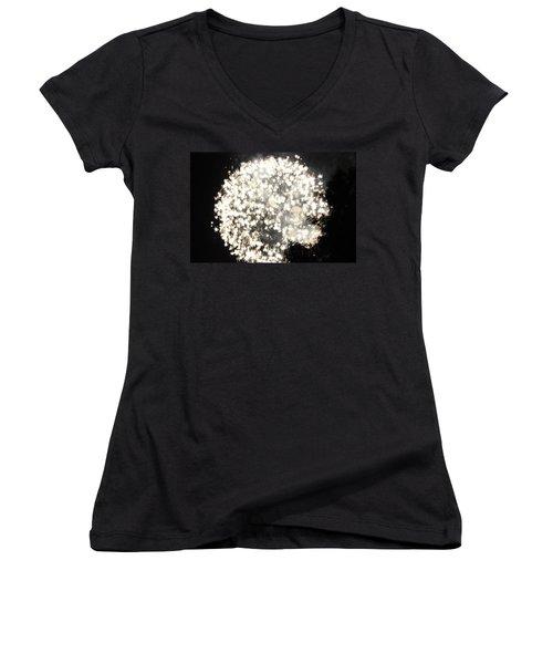 Dandelion Ablaze Women's V-Neck T-Shirt