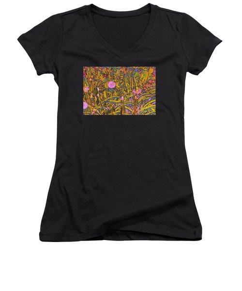Dandelions Women's V-Neck T-Shirt