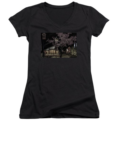 Dark Dream Women's V-Neck T-Shirt
