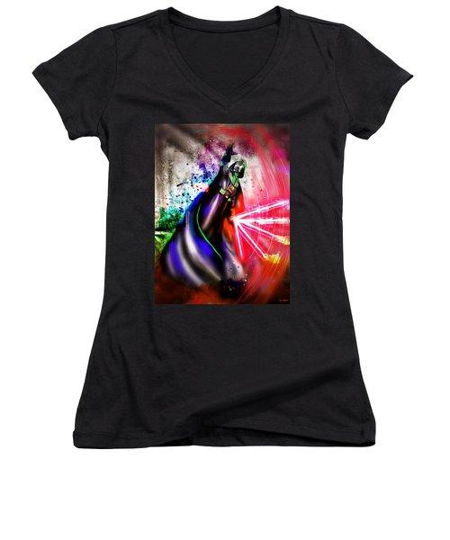Darth Vader  Women's V-Neck T-Shirt (Junior Cut)