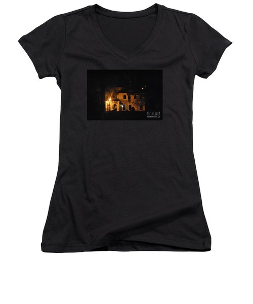 Davenport At Night Women's V-Neck
