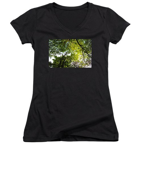 Daydreaming In The Hammock Women's V-Neck (Athletic Fit)