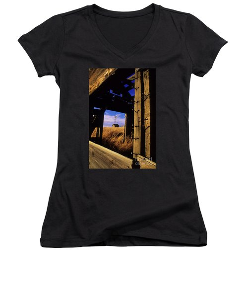 Days Gone By Women's V-Neck T-Shirt