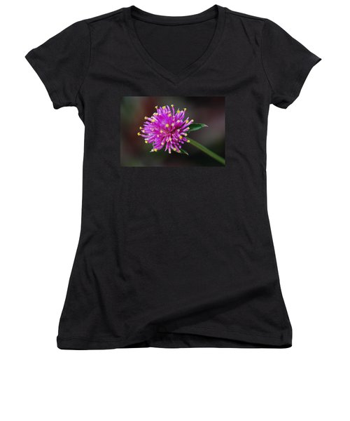 Women's V-Neck T-Shirt (Junior Cut) featuring the photograph Dbg 050812-1779 by Tam Ryan