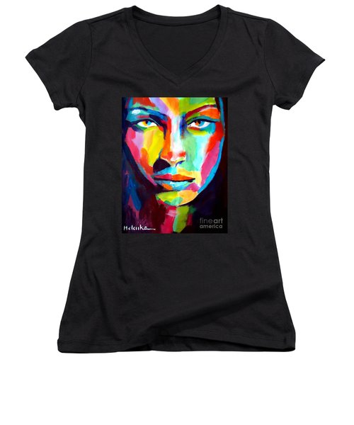 Deep Gaze Women's V-Neck