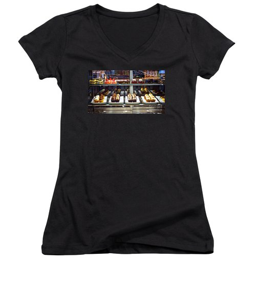 Delectable Desserts Women's V-Neck T-Shirt