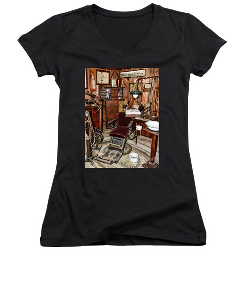 Dentist - The Dentist Chair Women's V-Neck T-Shirt
