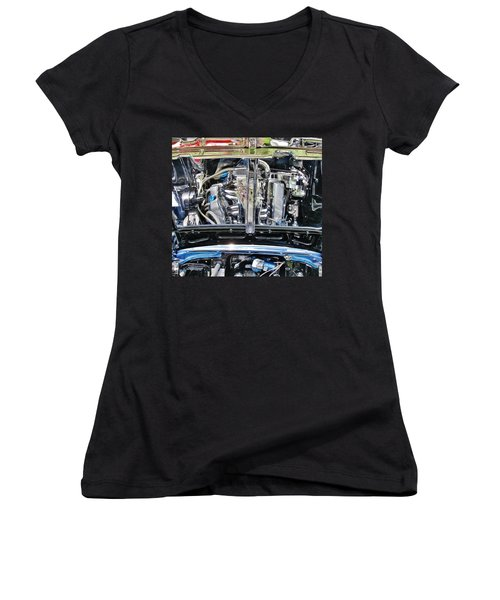 Details Women's V-Neck T-Shirt