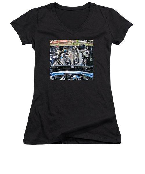Details Women's V-Neck T-Shirt (Junior Cut) by David Pantuso