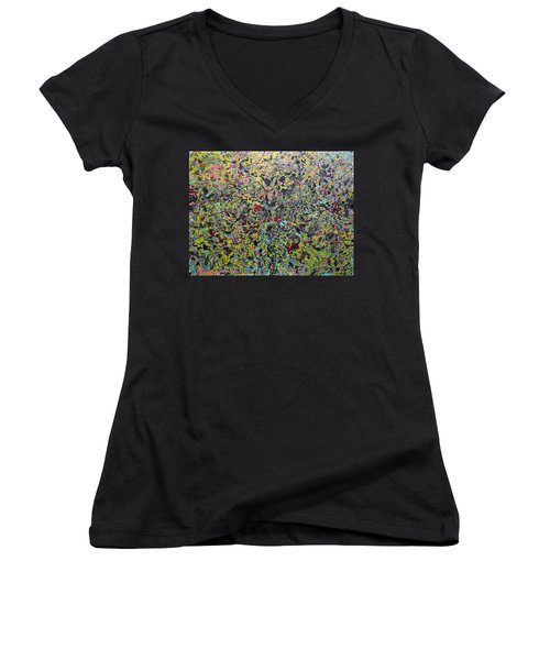 Devisolum Women's V-Neck T-Shirt