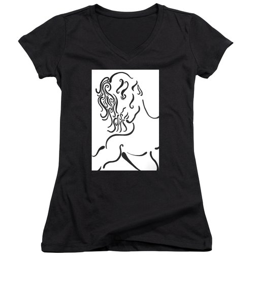Dionysus Women's V-Neck T-Shirt
