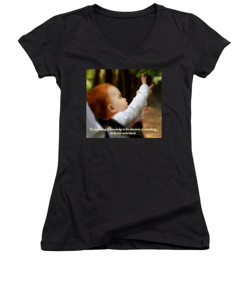 Discovery Women's V-Neck T-Shirt