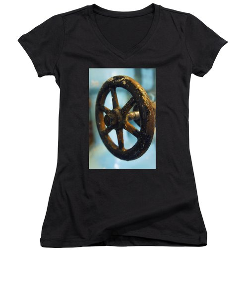 Distillery Tools Women's V-Neck (Athletic Fit)