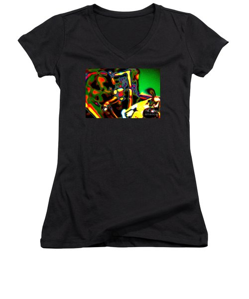 Distractions Women's V-Neck