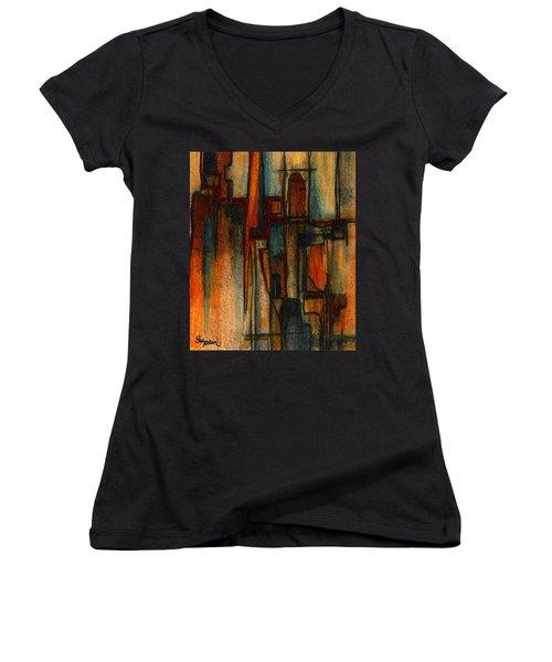 Divergence Women's V-Neck T-Shirt