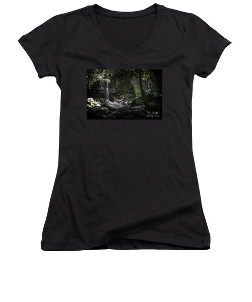 Do You Believe In Faeries Women's V-Neck