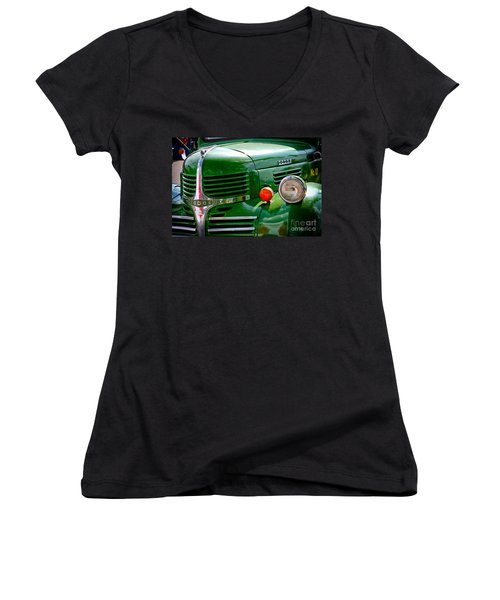 Dodge Truck Women's V-Neck (Athletic Fit)