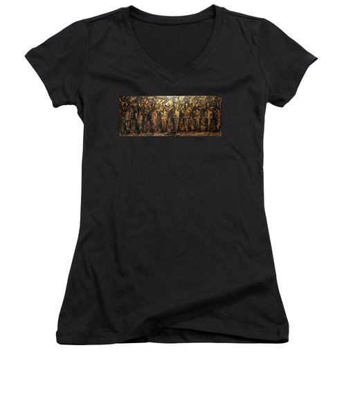 Immortals Women's V-Neck (Athletic Fit)