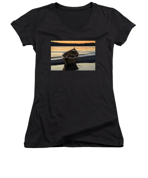 Dory At Dawn Women's V-Neck (Athletic Fit)