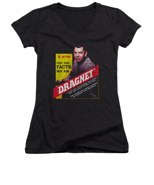 Dragnet - Pulp Women's V-Neck T-Shirt
