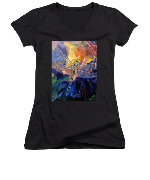 Dragon Summer Women's V-Neck T-Shirt