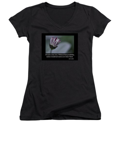Dreams Women's V-Neck T-Shirt