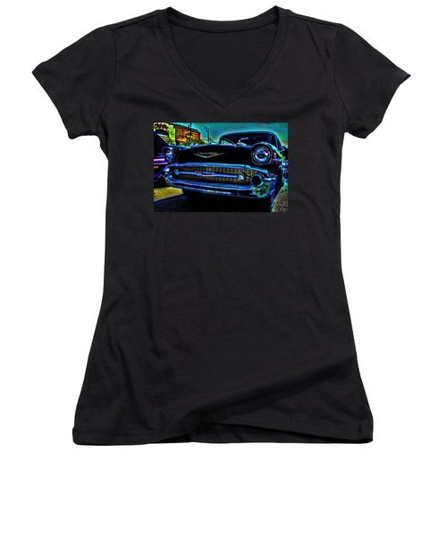 Drive In Special Women's V-Neck
