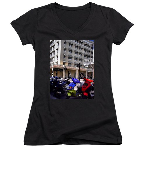 Drivin Duval Women's V-Neck T-Shirt