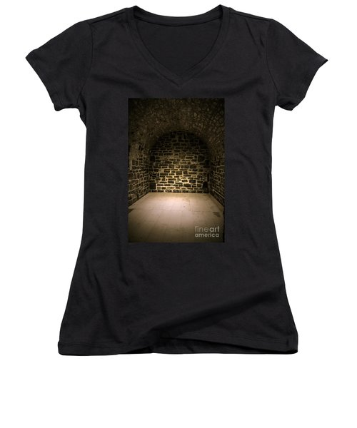 Dungeon Women's V-Neck (Athletic Fit)