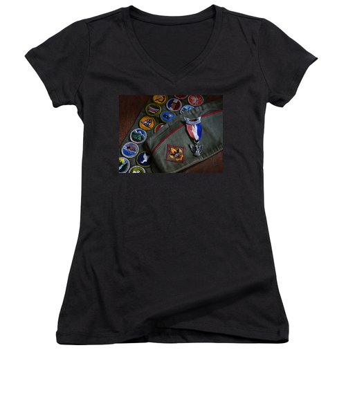 Eagle Scout Women's V-Neck T-Shirt
