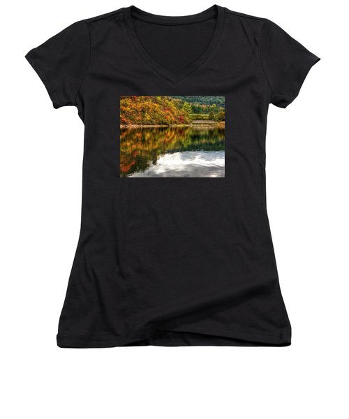 Early Autumn II Women's V-Neck T-Shirt