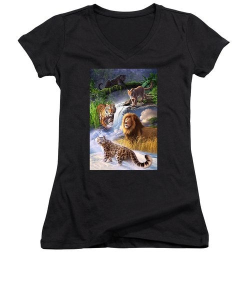 Earth Day 2013 Poster Women's V-Neck (Athletic Fit)