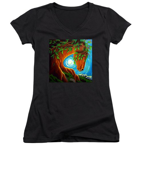 Earth Elder Women's V-Neck