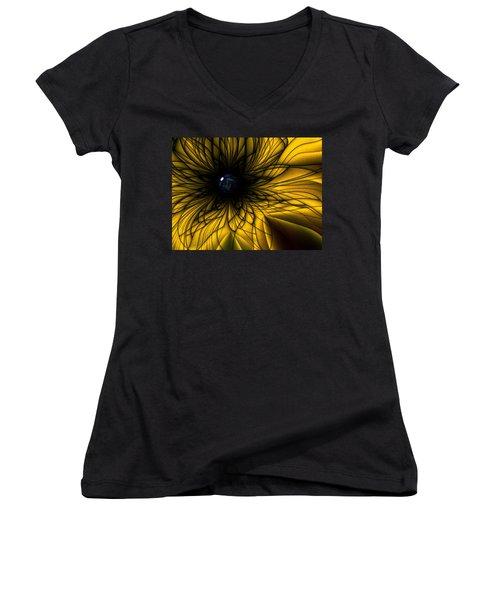 Earth Flower Women's V-Neck