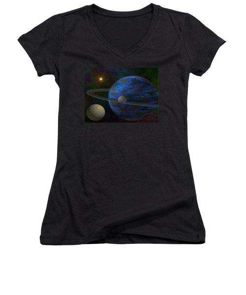 Earth-like Women's V-Neck