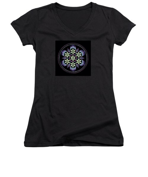 Earth's Forgiveness Women's V-Neck (Athletic Fit)