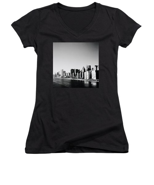 East River New York Women's V-Neck