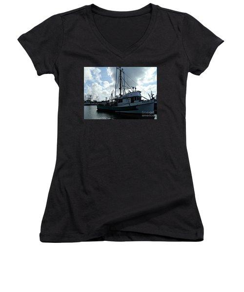 Ellie J Women's V-Neck T-Shirt (Junior Cut)