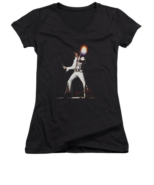 Elvis - Glorious Women's V-Neck (Athletic Fit)