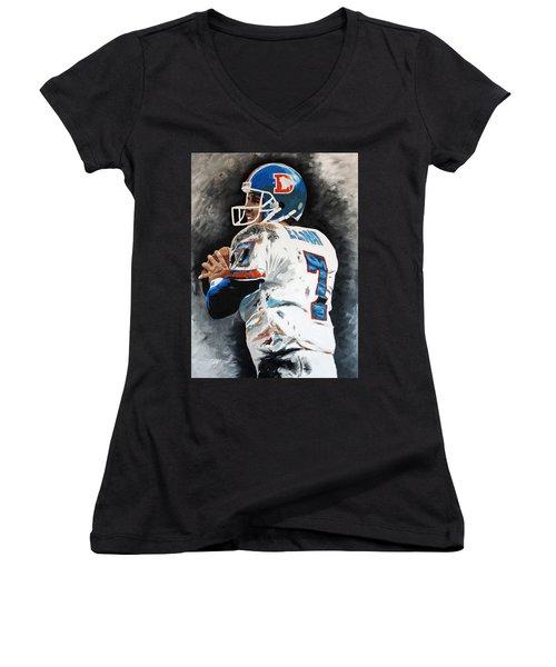 Elway Women's V-Neck T-Shirt