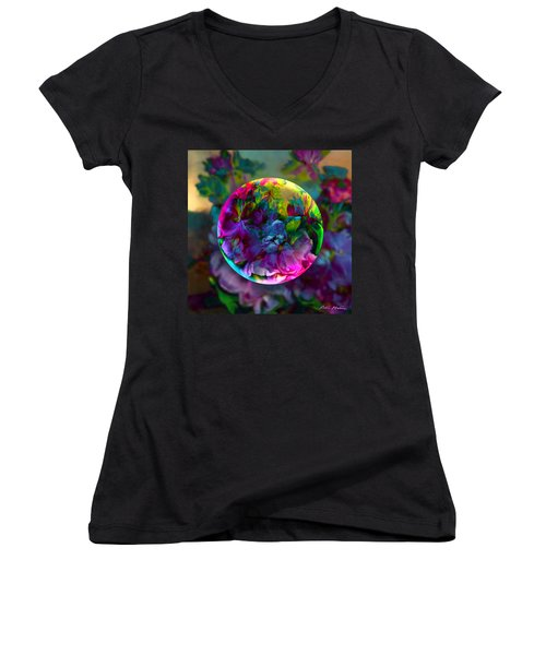 Emerging Spring  Women's V-Neck